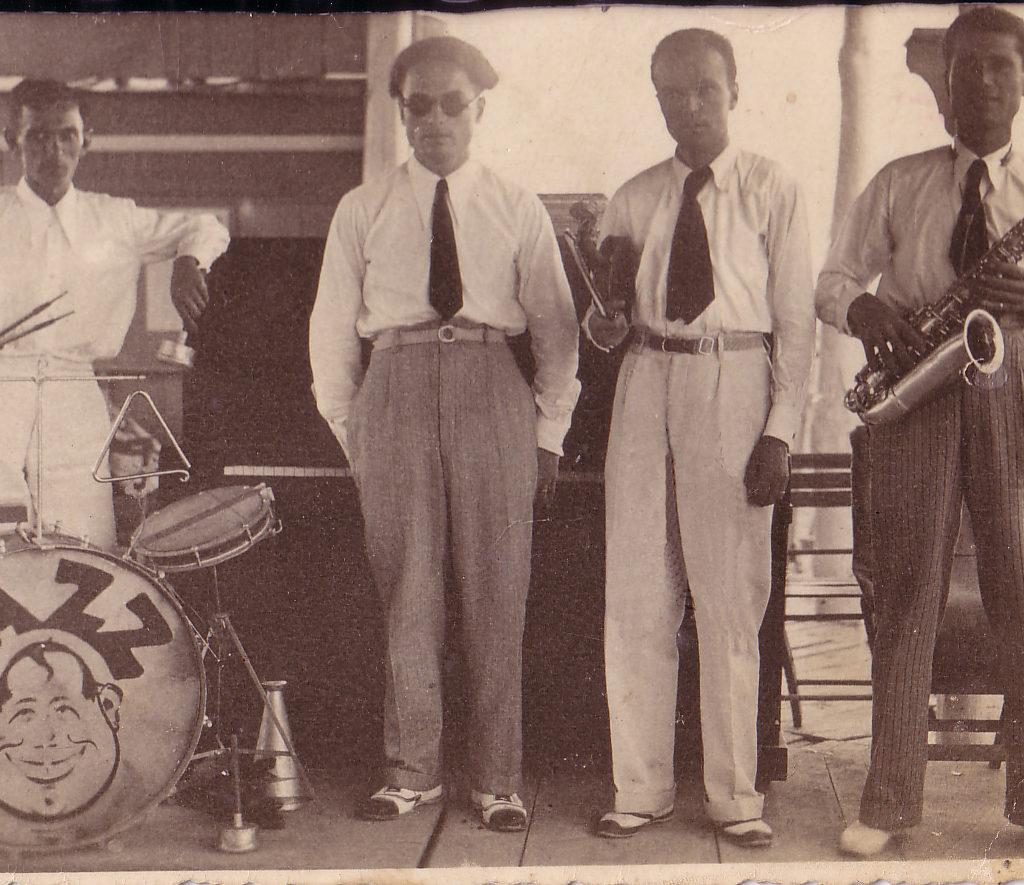 Orchestra Casadei 1927 Quartetto A Bellaria Stabilimento Norge
