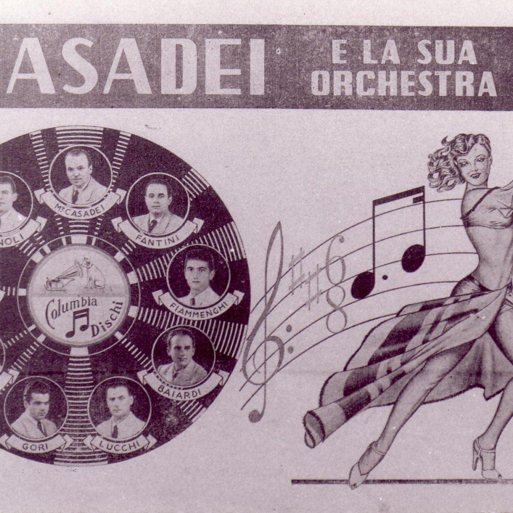 Orchestra Casadei 1949 – Locandina
