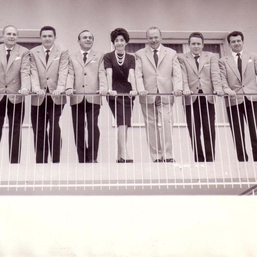 Orchestra Casadei 1957 Sul Balcone Di Villa Casadei