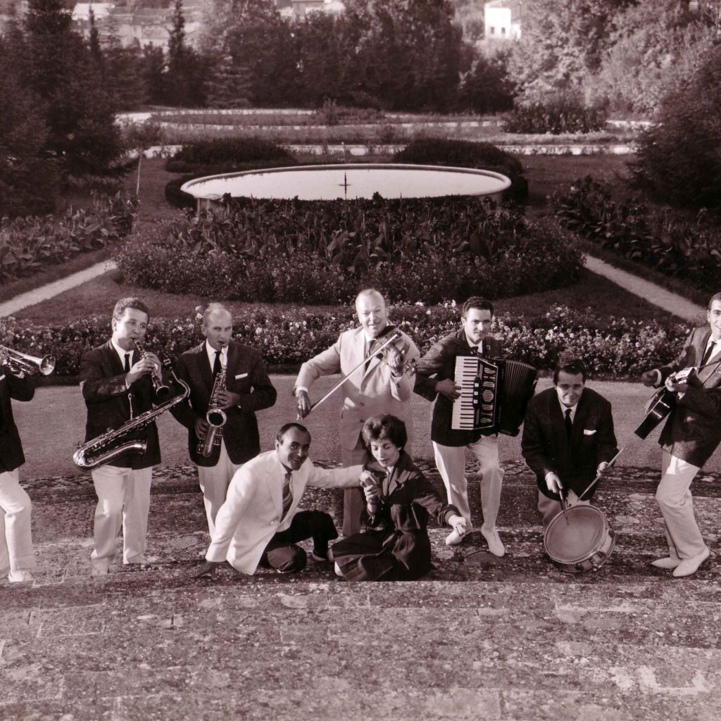 Orchestra Casadei 1961 Nella Villa Dei Marchesi Di Bagno