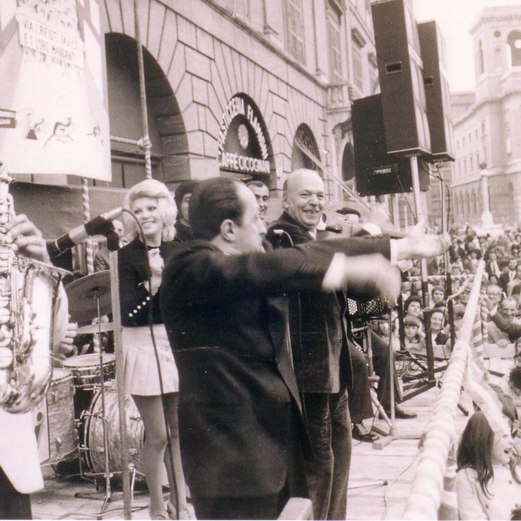 Orchestra Casadei 1971 1° Maggio Con Palma Calderoni, Nicolucci E Imitatore Piazza Saffi