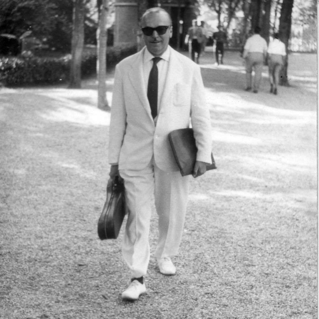 Secondo Casadei 1961Castrocaro Terme Luglio