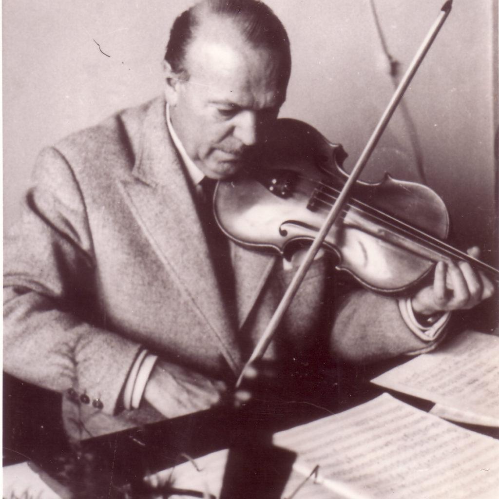 Secondo Casadei 1962 E Il Suo Violino