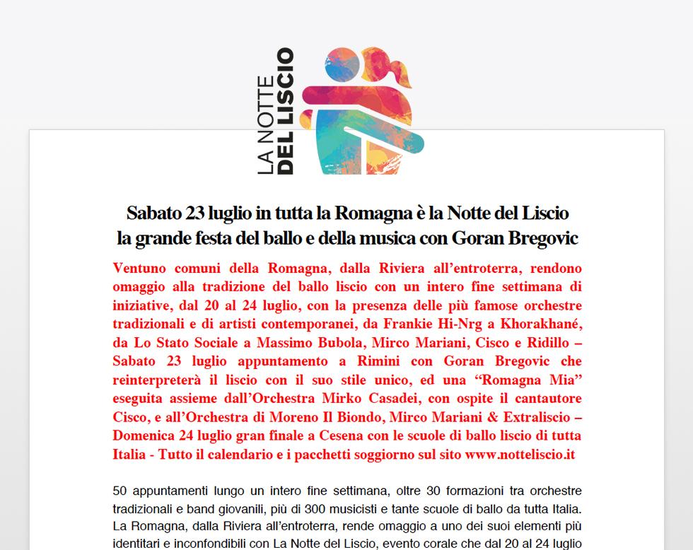 Calendario Orchestre Liscio.Sabato 23 Luglio In Tutta La Romagna E La Notte Del Liscio